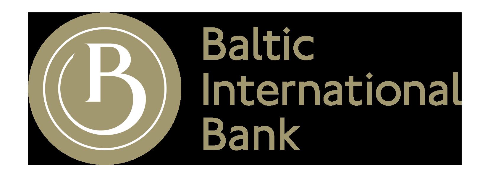 Baltic International Bank logotips