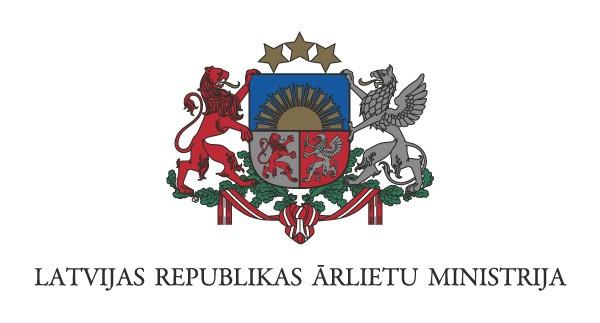 Ārlietu ministrija logotips