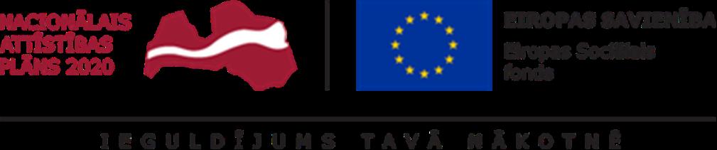 Eiropas Sociālais fonds logotips