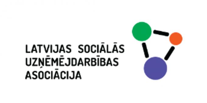 Sociālās uzņēmējdarbības asociācija logotips