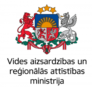 Vides aizsardzības un reģionālās attīstības ministrija logotips