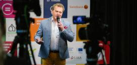 Atbildīgu ideju tirgus 2020 moderators Haralds Burkovskis