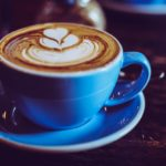 Digitālas kafijas pauzes digitālā virtuvē fotoattēls