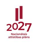 Nacionālā attīstības plāna 2027 logotips